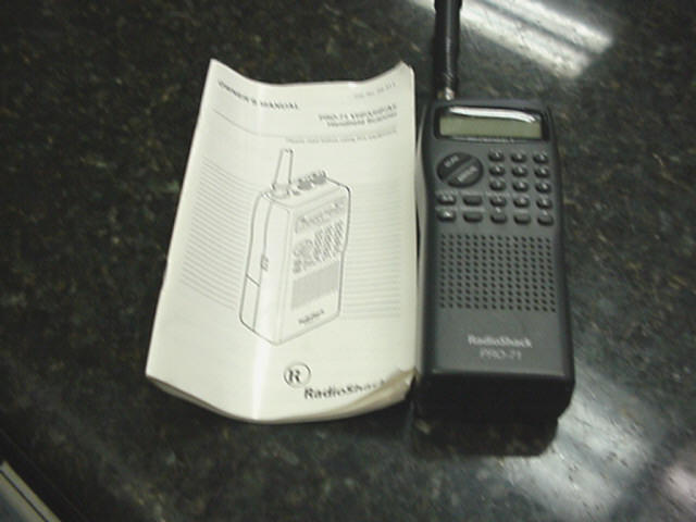 Radio Shack Scanner