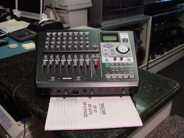 Tascam DP-01FX/CD Portastudio CD 8-track recorder