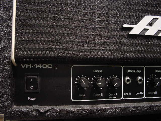 Ampeg vh-140C Vh140C Guitar Amp Head