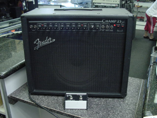 fender champ 25 se manual