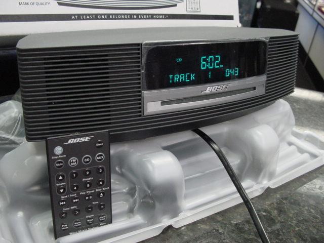 BOSE Wave Music System AWRCC1 AM-FM Radio CD Player