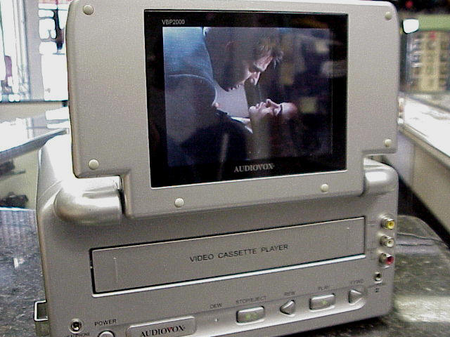 how to work audio in car vcr