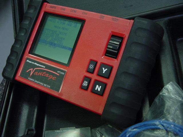 Snap-on Diagnostics Vantage V2 1 MT2400 METER Power Graphing