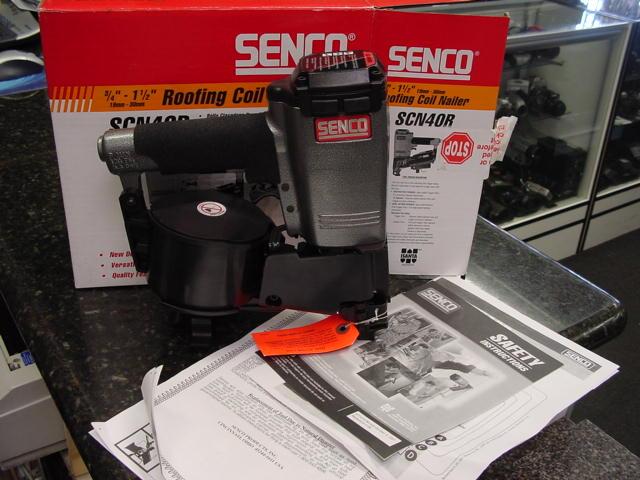 Senco Scn40r Coil Roofing Nailer